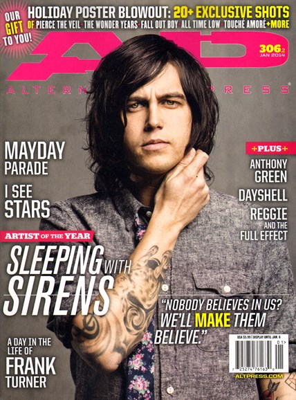 Alternative Press Cover - 1/1/2014