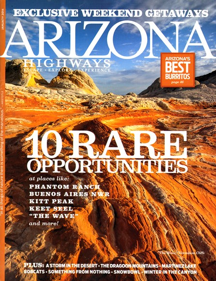 Arizona Highways Cover - 1/1/2014