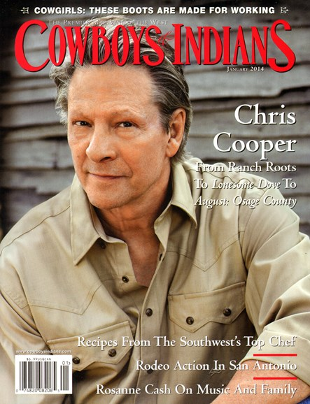 Cowboys & Indians Cover - 1/1/2014