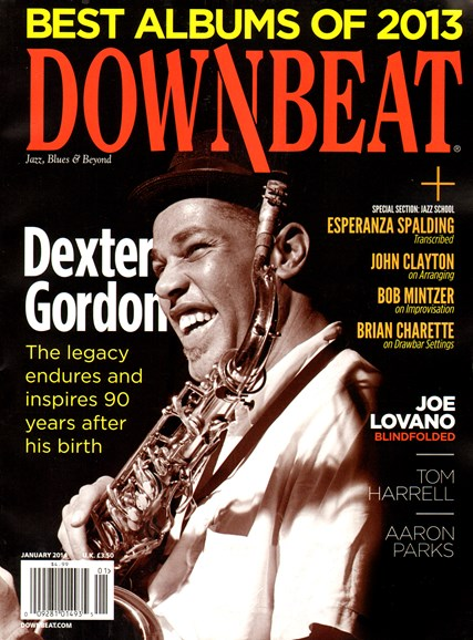 DownBeat Cover - 1/1/2014