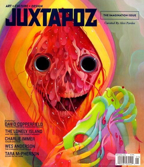 Juxtapoz Cover - 1/1/2014