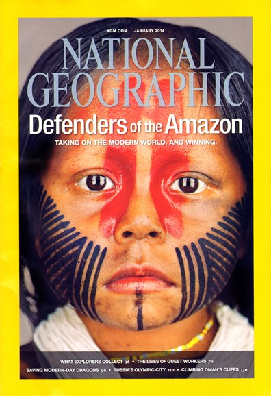 National Geographic Cover - 1/1/2014