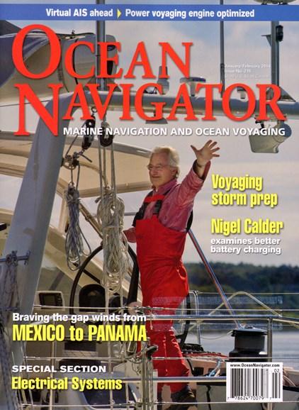 Ocean Navigator Cover - 1/1/2014