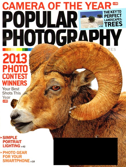 Popular Photography Cover - 1/1/2014