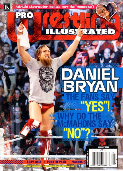 Pro Wrestling Illustrated Cover - 1/1/2014