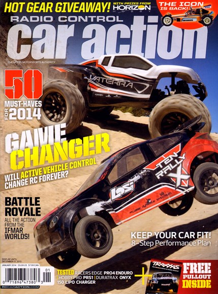 Radio Control Car Action Cover - 1/1/2014