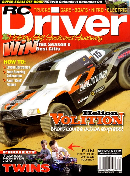 RC Driver Cover - 1/1/2014