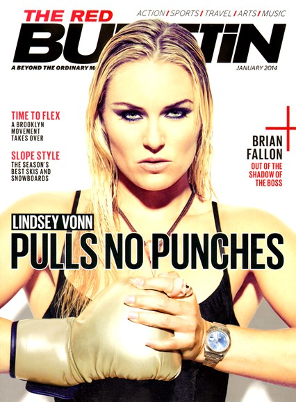 The Red Bulletin Cover - 1/1/2014
