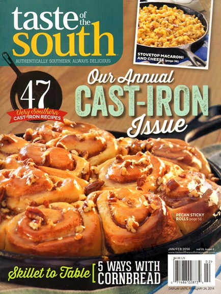 Taste of the South Cover - 1/1/2014