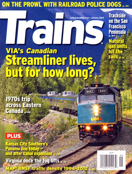 Trains Cover - 1/1/2014