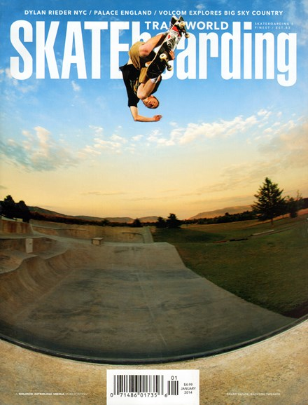 Transworld SKATEboarding Cover - 1/1/2014