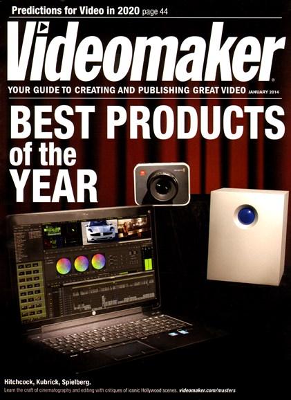 Videomaker Cover - 1/1/2014