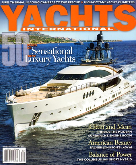 Yachts International Cover - 1/1/2014