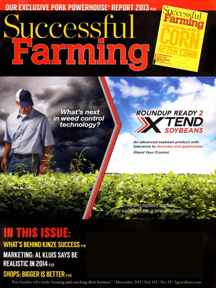 Successful Farming Cover - 12/1/2013
