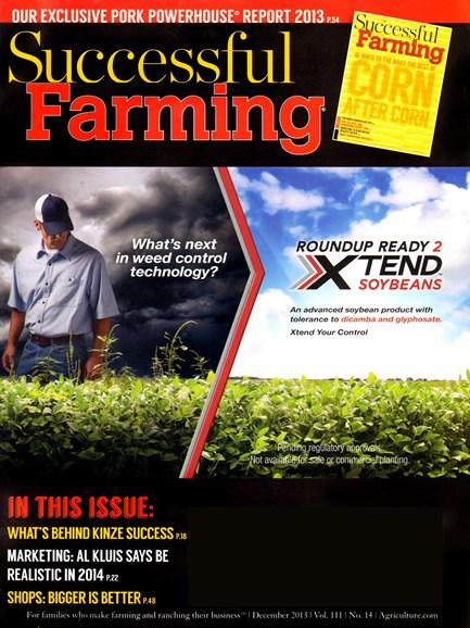 Successful Farming Cover - 12/1/2013