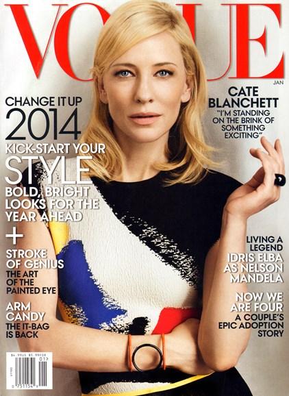 Vogue Cover - 1/1/2014