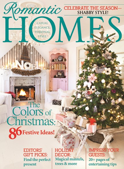 Romantic Homes Cover - 12/1/2013