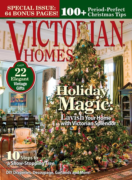 Victorian Homes Cover - 12/1/2013
