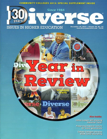 Diverse: Issues In Higher Education Cover - 12/19/2013