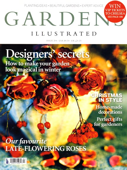 Gardens Illustrated Cover - 12/1/2013