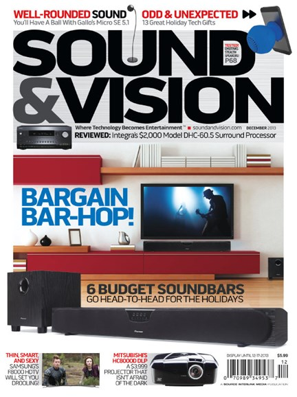Sound & Vision Cover - 12/1/2013