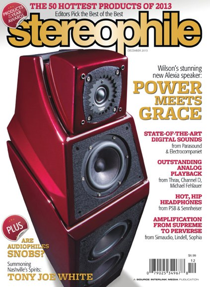 Stereophile Cover - 12/1/2013