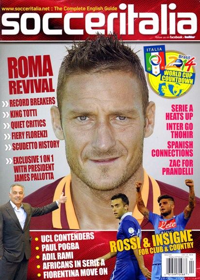 Soccer Italia Cover - 12/1/2013