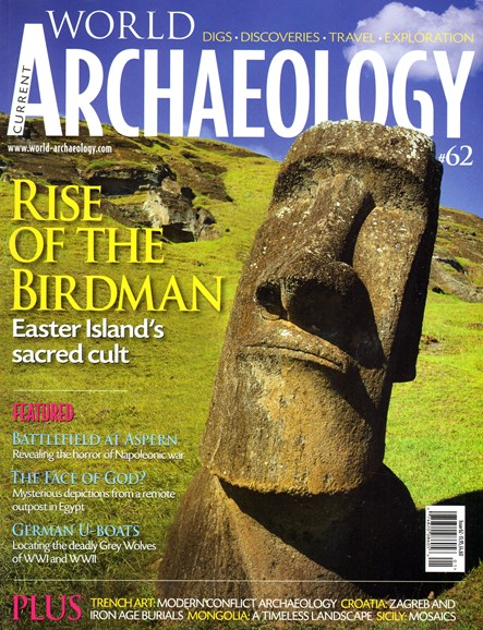 Current World Archaeology Cover - 12/1/2013