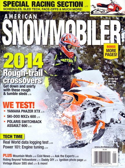 American Snowmobiler Cover - 1/1/2014