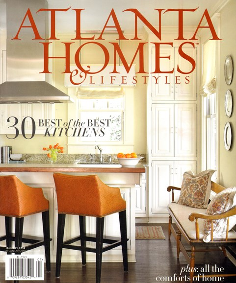 Atlanta Homes & Lifestyles Cover - 1/1/2014