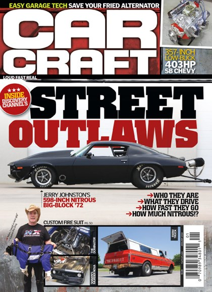 Car Craft Cover - 1/1/2014
