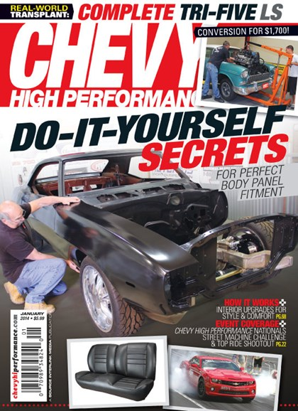 Chevy High Performance Cover - 1/1/2014