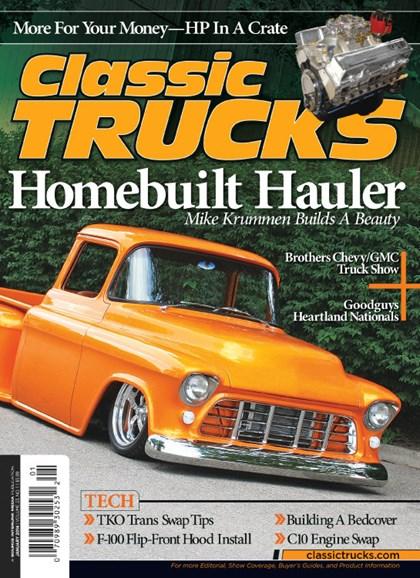 Classic Trucks Cover - 1/1/2014