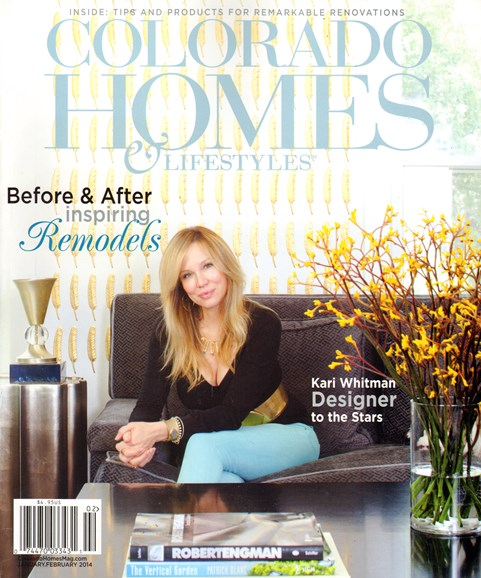 Colorado Homes & Lifestyles Cover - 1/1/2014