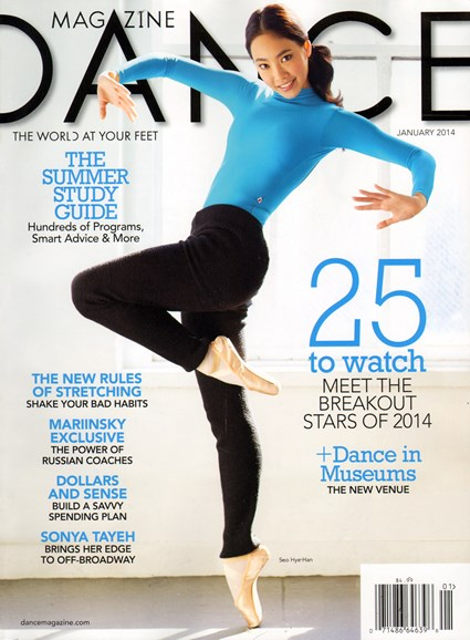Dance Magazine Cover - 1/1/2014