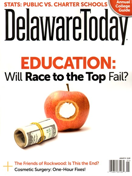 Delaware Today Cover - 1/1/2014
