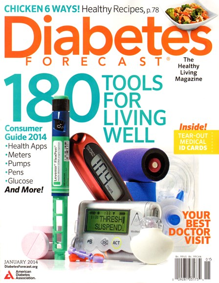 Diabetes Forecast Cover - 1/1/2014