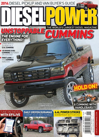 Diesel Power Cover - 1/1/2014