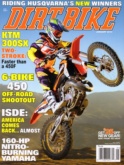 Dirt Bike Cover - 1/1/2014