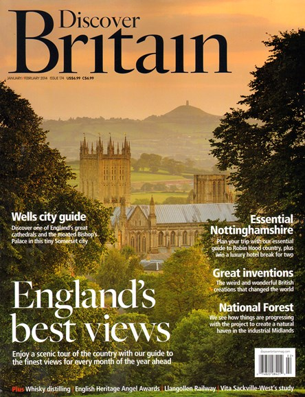 Discover Britain Cover - 1/1/2014
