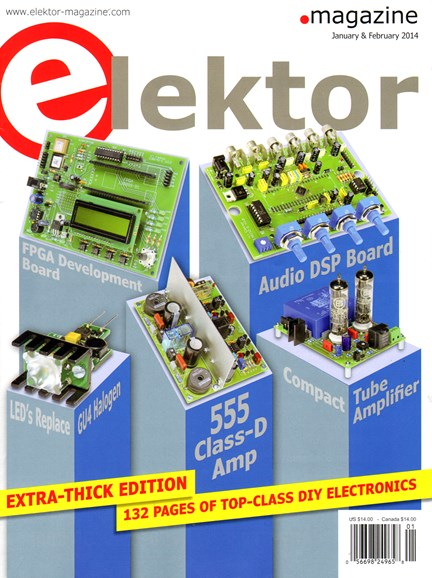 Elektor - North American Edition Cover - 1/1/2014