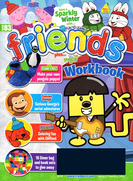 Preschool Friends Cover - 1/1/2014