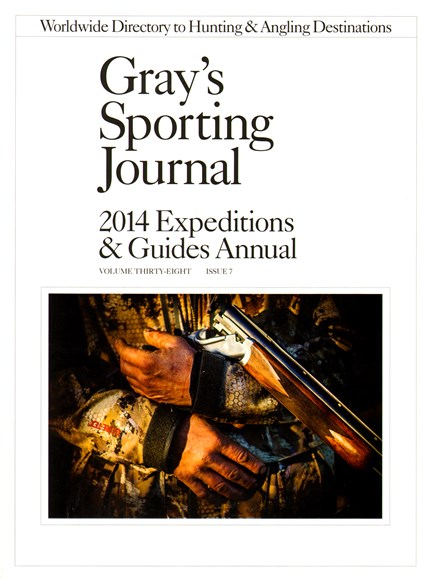 Gray's Sporting Journal Cover - 1/1/2014