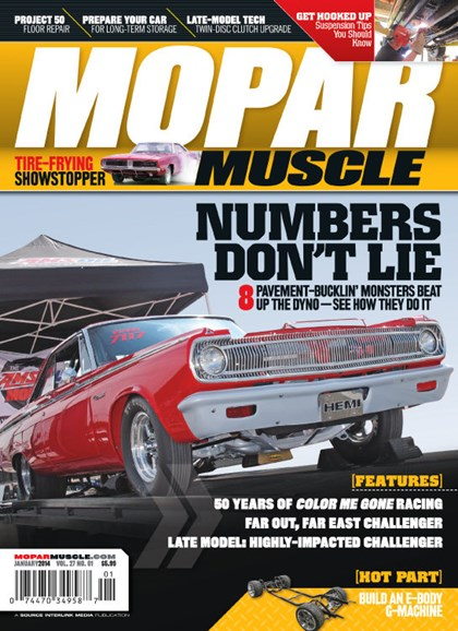 Mopar Muscle Cover - 1/1/2014