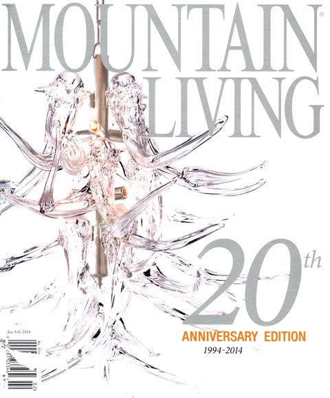 Mountain Living Cover - 1/1/2014