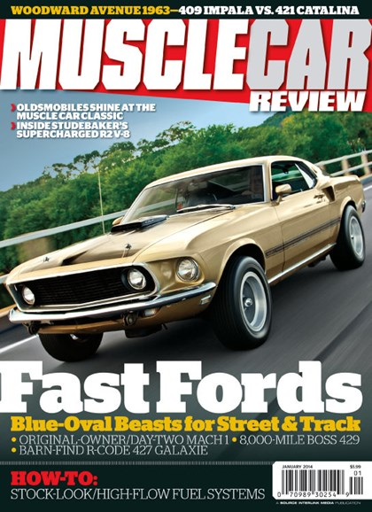 Muscle Car Review Cover - 1/1/2014