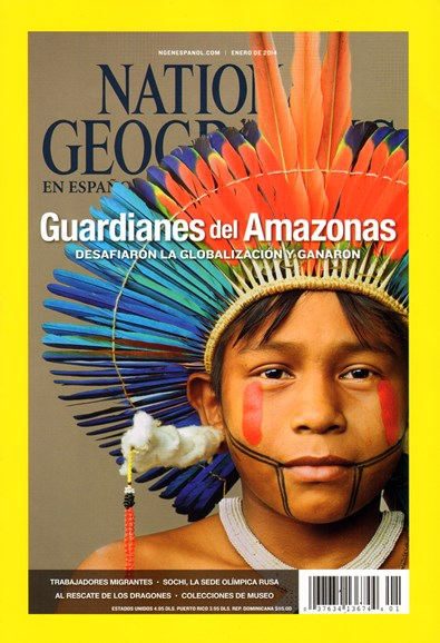 National Geographic En Español Cover - 1/1/2014