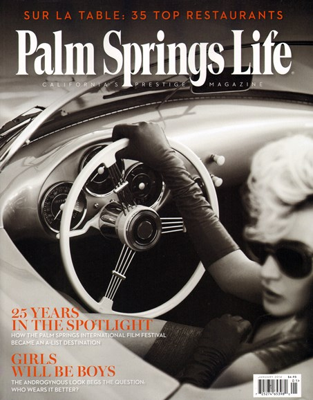 Palm Springs Life Cover - 1/1/2014