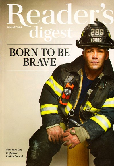 Reader's Digest Cover - 1/1/2014