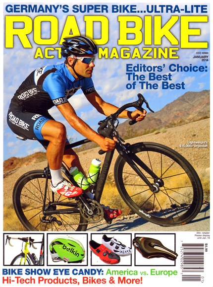 Road Bike Action Cover - 1/1/2014